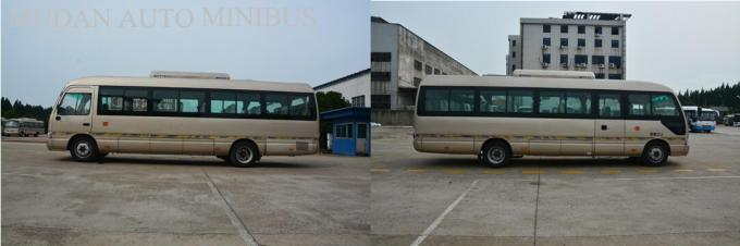 Toyota style Rosa Tourist Mini Bus Coaster vehicle 6m with Yuchai engine