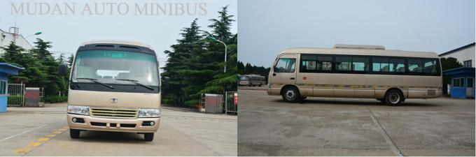 School Transportation Star Type 30 Passenger Mini Bus With Aluminum Hard Door