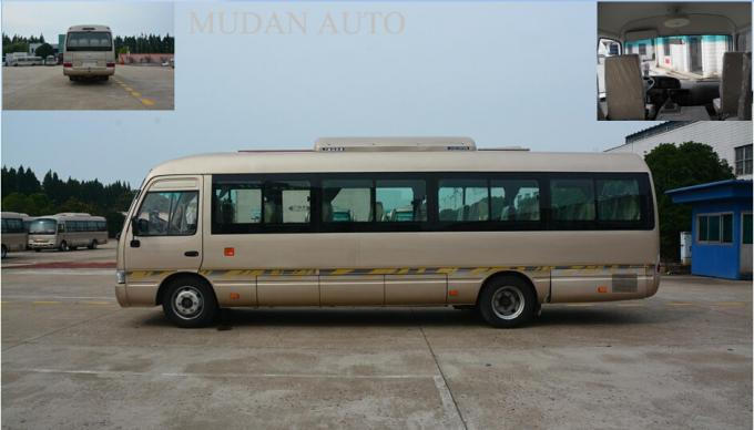Mudan Coaster Diesel / Gasoline / Electric School City Bus 31 Seats Capacity 2160 mm Width