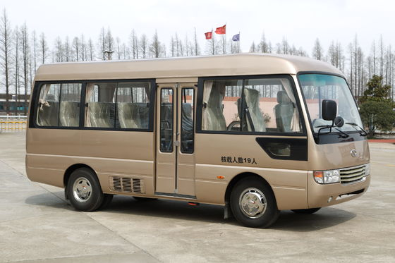 China Toyota style Rosa Tourist Mini Bus Coaster vehicle 6m with Yuchai engine supplier