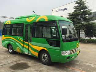 China Rural Toyota Coaster Bus / Mitsubishi Coach Rosa Minibus 7.5 M Length supplier