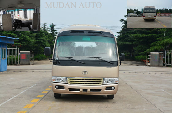 China Mudan Coaster Diesel / Gasoline / Electric School City Bus 31 Seats Capacity 2160 mm Width supplier