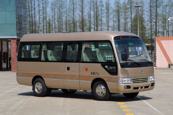China Mitsubishi Rural Coaster Minibus Passenger Sightseeing Tour Bus 6M Length distributor