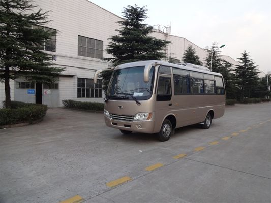China 6.6M LHD / RHD Diesel Old School Buses With Cummins Engine EQB125-20 distributor