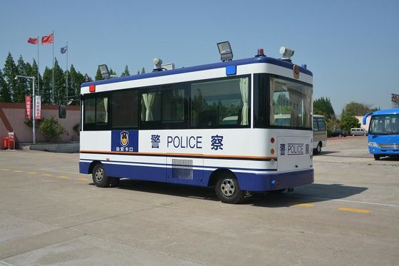 China Public Police Office Special Purpose Vehicles , Mobile Patrolling Police Command Vehicles distributor