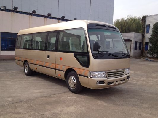China 23 Seats Electric Minibus Commercial Vehicles Euro 3 For Long Distance Transport distributor