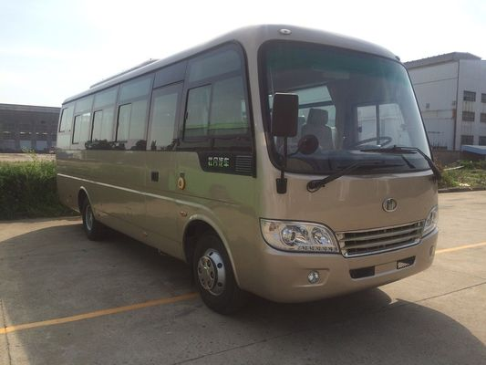 China Output City High Roof Sightseeing Mini Passenger Bus Minivan Manual Gearbox distributor