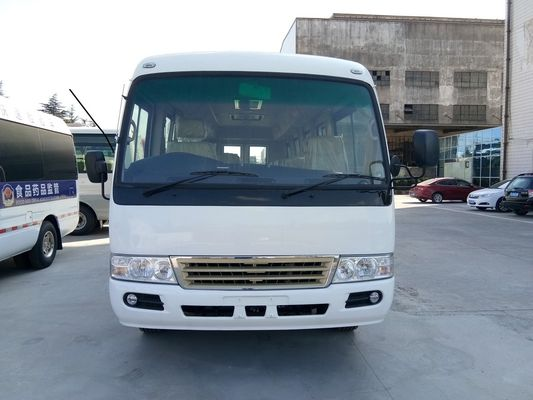 China Petrol 30 Seater High Roof Diesel Toyota Rosa Bus Light Commercial Vehicles distributor