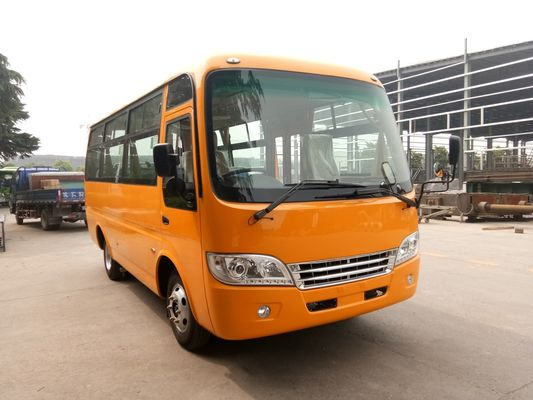 China Higher Carrying Capacity 19 Seater Minibus Multi - Purpose Buses Ergonomic Design distributor
