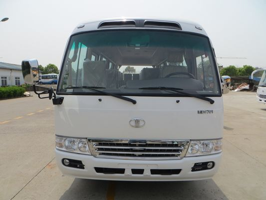 China Public Transportation 23 Seater Minibus 91 - 110 Km / H Coaster Travel Buses distributor