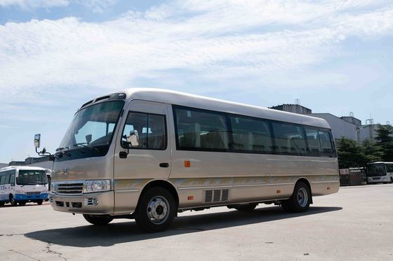 China Travel Tourist 30 Seater Minibus 7.7M Length Sightseeing Europe Market distributor