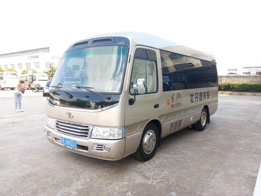 China Luxury K Series 19 Seater Bus , 19 Seater Coach 5500 Kg Gross Vehicle Weight distributor